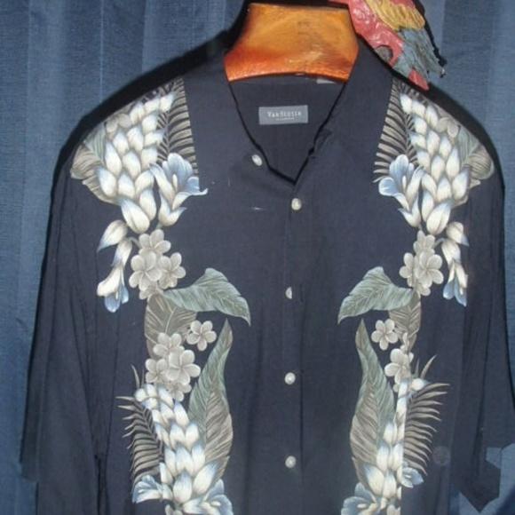 303fa716a195 Van Heusen Shirts | Mens Short Sleeve Camp Shirt | Poshmark